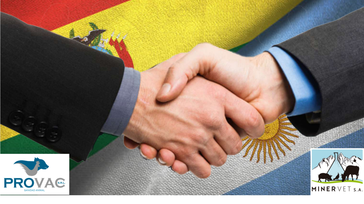MINERVET S.A. registers AISEN and AISEN PLUS in Bolivia and starts their commercialization in the country